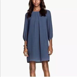 H&M Women's Blue Shift Dress Size 2